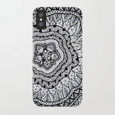 Doodle1 iPhone X Slim Case