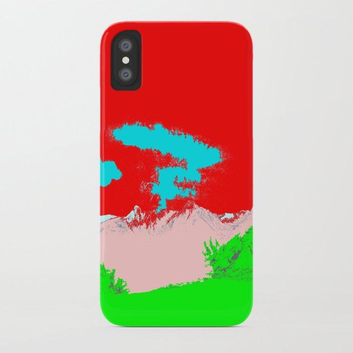 Ice Cream Mountain iPhone Case