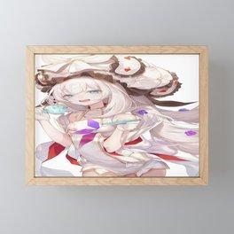 anime anime girls digital artwork vertical portrait display 2D Marie Antoinette (Fate/Grand Order) Fate Series Framed Mini Art Print