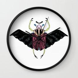 Beetle #2 Color Wall Clock