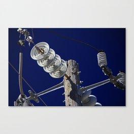It's Electric II Canvas Print