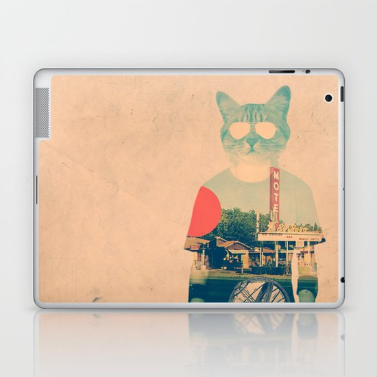 Cool Cat Laptop & iPad Skin