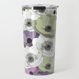 Anemones bouquet cold Travel Mug