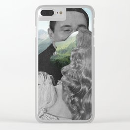 Another time and place. Clear iPhone Case