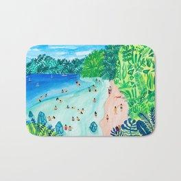 Glassy Island Bath Mat