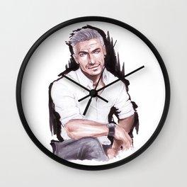 Marker Sketch Wall Clock