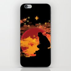 NINJA NIGHT SHOWDOWN iPhone & iPod Skin