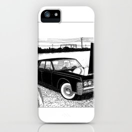 asc 637 - Les jumelles trépidantes (The V2 engine) iPhone Case