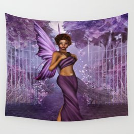Lilac Nights Wall Tapestry