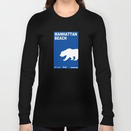 Manhattan Beach.  Long Sleeve T-shirt