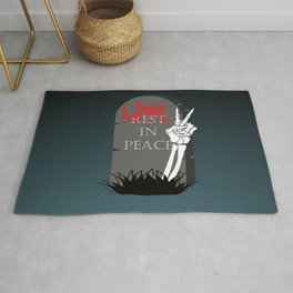 Live In Peace Rug