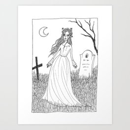 Return from the dead Art Print