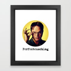 Perfectenschlag  |  Dwight Schrute Framed Art Print