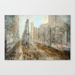 Times square usa Canvas Print