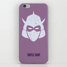 Shredder - Turtle Soup iPhone Skin