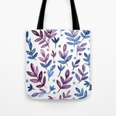 Blue violet Tote Bag