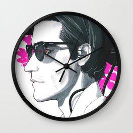 Wide Lense Wall Clock