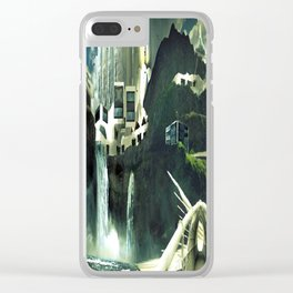 Arcadia, The Last Great City Clear iPhone Case