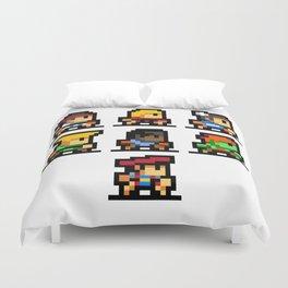 Minimalistic - Street Fighter - Pixel Art Duvet Cover