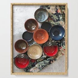 Ceramics 4 Serving Tray