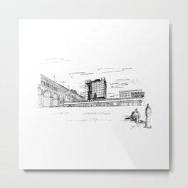 Eads Bridge - St. Louis Metal Print