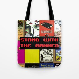 Stand With the Banned Tote Bag