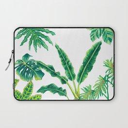 Tropical House Plants Laptop Sleeve