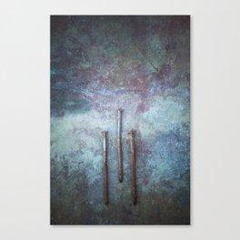 Three Nails Canvas Print