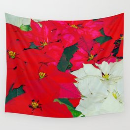 Poinsettias, Olbrich, 5345 Wall Tapestry
