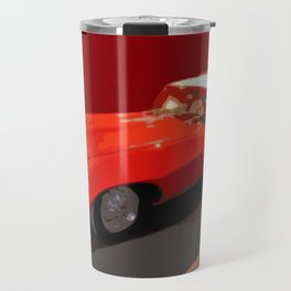 Vintage 1969 Jaguar  | Nadia Bonello Travel Mug