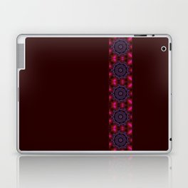 Purple and Green Modern Bejeweled Mandala Laptop & iPad Skin