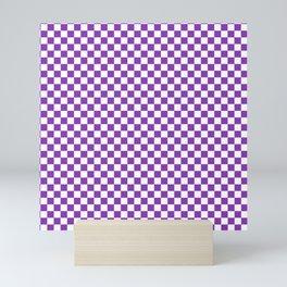 Checkered Checker Board Mini Art Print