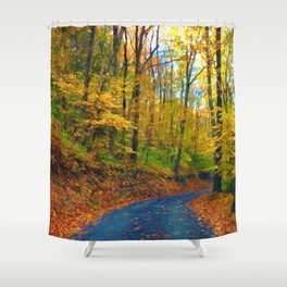 Autumn in Pennsylvania Shower Curtain