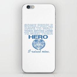 Police Officer's Mom iPhone Skin