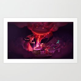 Doom Bots Promo Art League of Legends Artwork Wallpaper lol Art Print