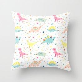 Dinosaur Pattern Throw Pillow