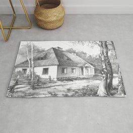 Traditional Polish Mansion Rug