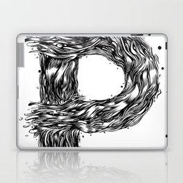 The Illustrated P Laptop & iPad Skin