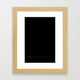 Joy Divided Framed Art Print