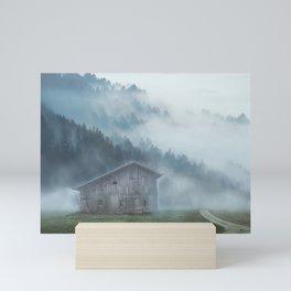 Mountains Landscape Mini Art Print