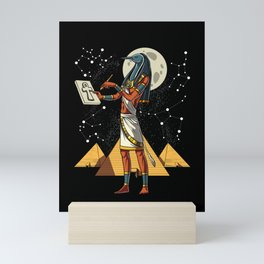 Thoth Egyptian God Ancient Pyramids Mini Art Print