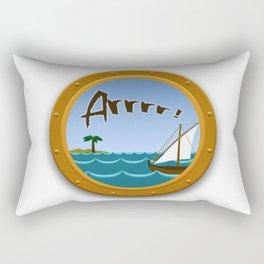 Arrrr! Rectangular Pillow