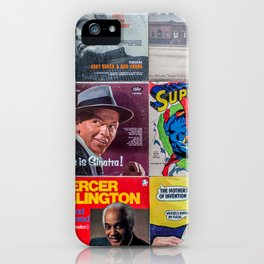 Old Records iPhone Case