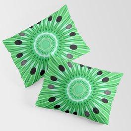 Digital art kiwi Pillow Sham