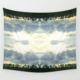 crack in the sky Wall Tapestry