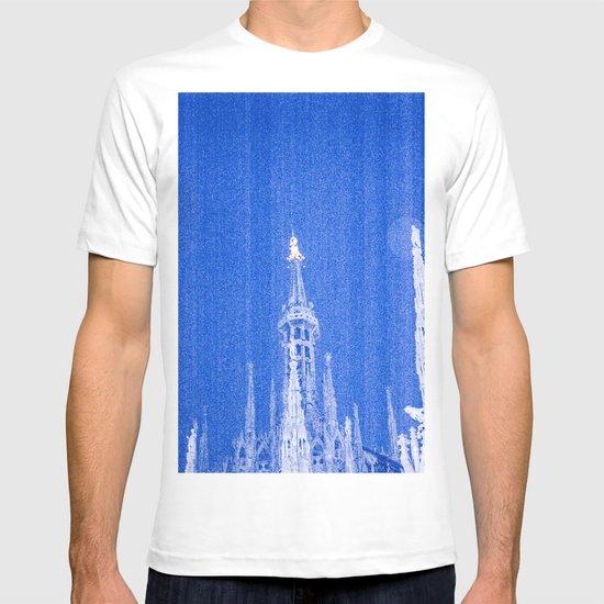 Night of Blue over Milan T-shirt