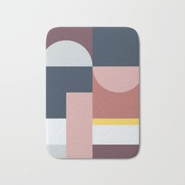 Abstract Geometric 05 Bath Mat