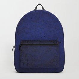 Abstract purple blue rustic metallic gradient Backpack