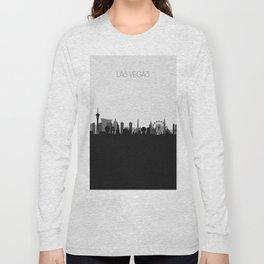 City Skylines: Las Vegas (Alternative) Long Sleeve T-shirt