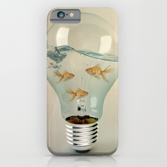 ideas and goldfish 03 iPhone & iPod Case